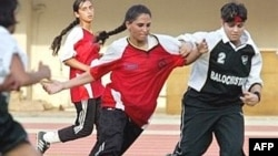 Afghan women's football team (file photo)