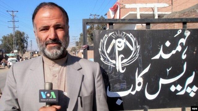 Pakistan -- VOA journalist Mukarram Khan Aatif who was killed in Shabqadar town in northwestern Khyber Pakhtunkhwa province, undated