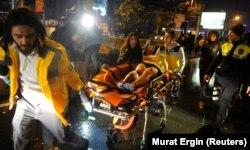 Нападение на ночной клуб в Стамбуле. 1 января 2017 года