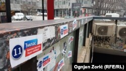 Beogradski zidovi, haustori, ceo grad je postao mesto za predizborne poruke