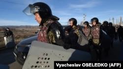 Кордойдогу казак полициясы.