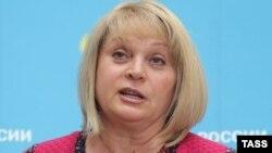 Russian electoral Commission head Ella Pamfilova (file photo)