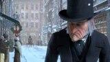 "Ebenezer Scrooge, personaj și scenă din nuvela lui Charles Dickens ""A Christmas Carol""."