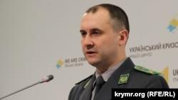 Речник Державної прикордонної служби України Олег Слободян