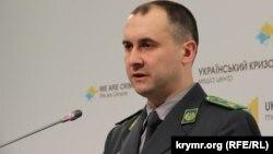 Памочнік старшыні ўкраінскай памежнай службы Алег Слабадзян