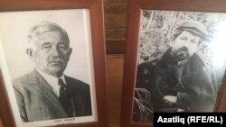 Чистай районы Яуширмә авылы музеендагы Гаяз Исхакый фотосурәтләре