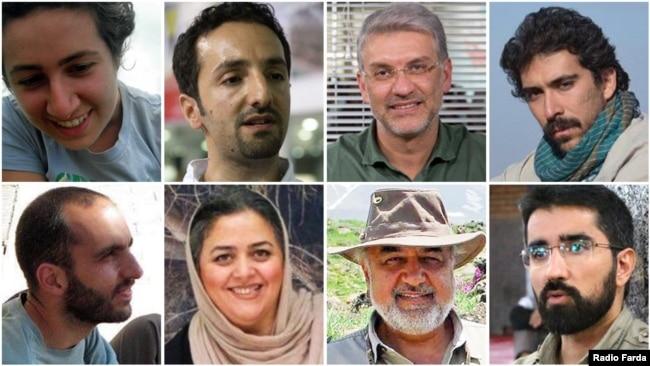 هشت فعال محیط زیست بر اساس حکم دادگاه به ۴ تا ۱۰ سال زندان محکوم شدهاند