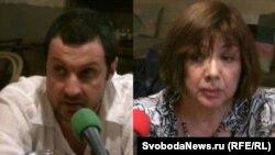 Николай Клименюк и Ольга Здравомыслова