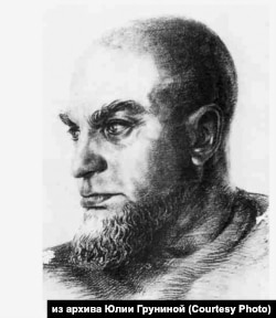 Юрий Грунин. Портрет профессора Людвига Генриха