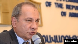 Министр экономики Армении Ваграм Аванесян (архив)