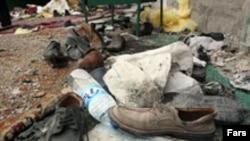 در یکماه گذشته دو خبر متفاوت در باره علت بروز انفجار در حسینیه ای در شیراز منتشر شد.(عکس: فارس)