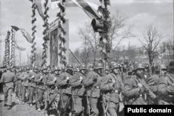 13 батальён СД у Менску