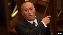 Kosovar Prime Minister Ramush Haradinaj (file photo)