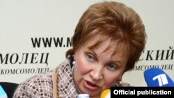 Russia -- Olga Yegorova, chairwoman, Moscow city-court, 21Sep2010
