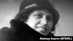 Самая известная архивная фотография Фатимы Габитовой, используемая в фильме «Фатима». Фото с экрана.