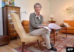 Мари фон Дардел, племянница Рауля Валленберга и одна из заявительниц иска к ФСБ России