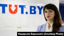 Журналистка TUT.BY Катерина Борисевич