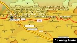 Европа-Көнбатыш Кытай машина юлы Татарстан аша шушы маршруттан узачак