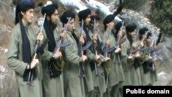 """Фотография, опубликованная """"Исламским движением Узбекистана"""", взявшим ответственность за атаку в Карачи."""