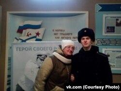Ирина Недосекина с сыном Андреем