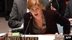 Постоянный представитель США в ООН Саманта Пауэр.