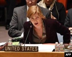 Постоянный представитель США в ООН Саманта Пауэр