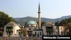 Careva džamija u kojoj je sjedište Islamske zajednice u BiH, Sarajevo