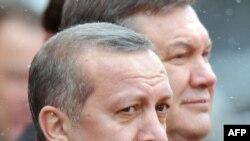 Віктор Янукович і турецький прем'єр Реджеп Тайїп Ердоган