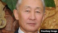 Казахстанский историк Мухтарбек Каримов.