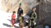 Displaced Afghans in Uruzgan Province