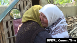 Жительницы приграничного села Сомониён