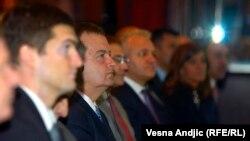Kryeministri serb, Ivica Daçiq gjatë një prej aktiviteteve të tij në Beograd , 01 Gusht 2013