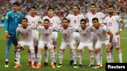 Iran is current ranked the best Asian team at No. 30 by soccer's world governing body, FIFA.