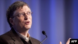 Microsoft founder and philanthropist Bill Gates (file photo)