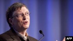 Microsoft компаниясын құрған Билл Гейтс.