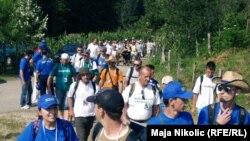 Marš mira, 8. jul 2012.