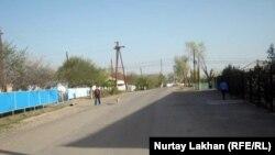 Село в Талгарском районе Алматинской области. 12 апреля 2013 года.