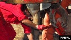 Türkmen işçileri.