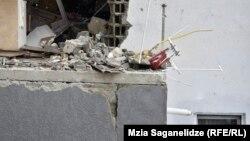 Последствия взрыва в Диди Дигоми