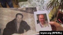 Фотографії батька Олександра Костенка