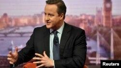 Премьер-министр Великобритании Дэвид Кэмерон. Лондон, 21 февраля 2016 года.