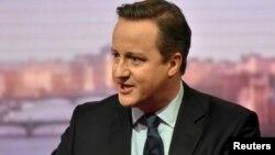Ұлыбритания премьер-министрі Дэвид Кэмерон.