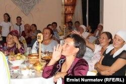Свадьба в Ошской области. Иллюстративное фото.