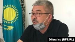Мақтарал ауданы әкімінің орынбасары Бейсенбай Төребеков. 11 мамыр 2020 жыл.