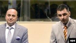 Љубе Бошковски и Јохан Трачуловски пред трибуналот во Хаг