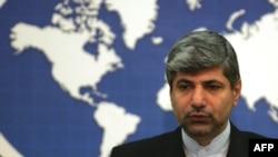 Iran Foreign Ministry spokesman Ramin Mehmanparast (file photo)