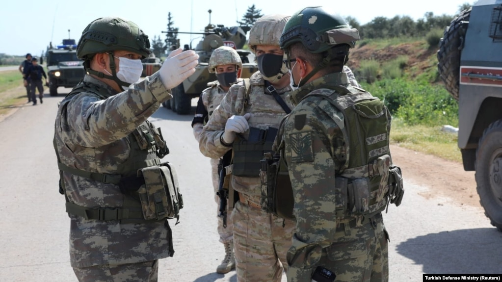 Թուրք զինվորականները, ովքեր ծառայելու են այս կենտրոնում, ժամանել են Ադրբեջան