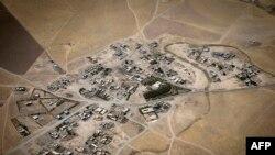 Pamje e qytetit Irbil në Irak nga ajri