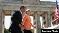 Angela Merkel i Barak Obama, ilustrativna fotografija