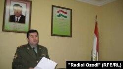 Сафарали Мирзоев, прокурор военного гарнизона Согдийской области